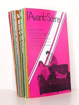 L'Avant-Scène Fémina Théâtre - Année 1961 complète ( ...
