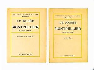Le Musée de Montpellier , Musée Fabre (lot de 2 volumes) : Dessins ; Peinture et ...