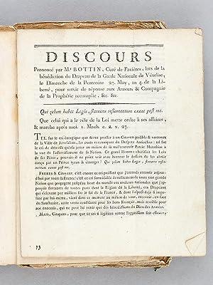 Recueil de 14 Discours originaux de Sébastien Bottin sur la période 1796 - 1799 : ] ...