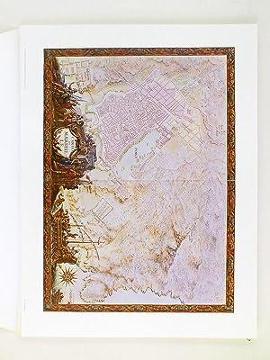 20 planches d'un Atlas manuscrit de Louis XIV intitulé Recueil des Places de Guerre des...