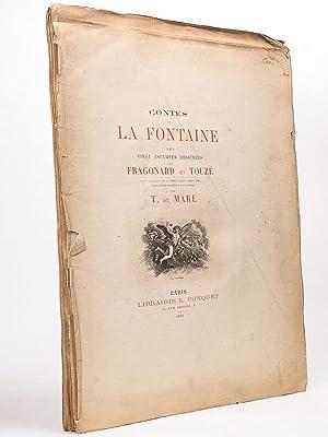 Contes de La Fontaine. Les vingt estampes: LA FONTAINE ;