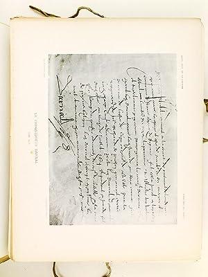 Autographes de personnages ayant marqué dans l'Histoire de Bordeaux et de la Guyenne. ...