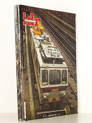 L'Indépendant du Rail ( I.D.R. ), Mensuel du modélisme ferroviaire et des amis ...