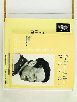Poètes d'Aujourd'hui N° 35 : Saint-John Perse [ Livre et disque, dit par Jean ...