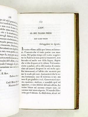 Dell'Epistolario di Melchiorre Cesarroti. Tomo IV: CESAROTTI, Melchior