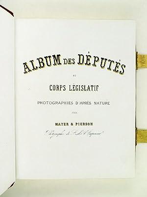 Album des Députés au Corps Législatif. Photographies d'après ...