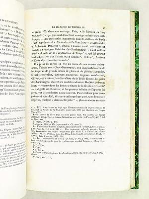 Thomas III Marquis de Saluces. Etude historique et littéraire, avec une introduction sur la ...