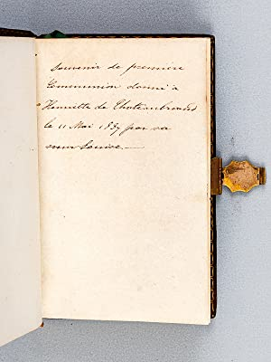 Manuel des Personnes Pieuses, ou Recueil des Prières choisies [ Exemplaire d'Henriette ...