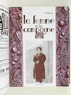 La Femme à la Campagne. Revue Mensuelle des Organisations Féminines Agricoles de l&#...