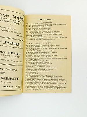 Programme des Fêtes du XIVe centenaire de l'Abbaye Sainte-Croix de Poitiers, 2 - 3 - 4 ...