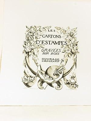 Carton d estampes gravées sur bois « Ouvrage: Collectif ; CLEMENT-JANIN