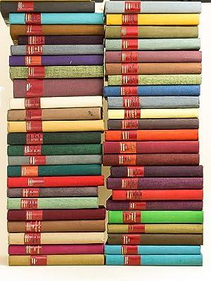 Ensemble de 100 Volumes reliés d'oeuvres de: SIMENON, Georges