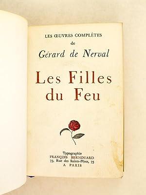 Les Filles du Feu: NERVAL, Gérard de ; [ GOETHE ]