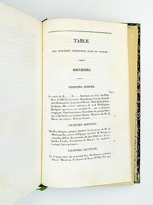 Mémoires et souvenirs du général Maximilien Lamarque, publié par sa ...