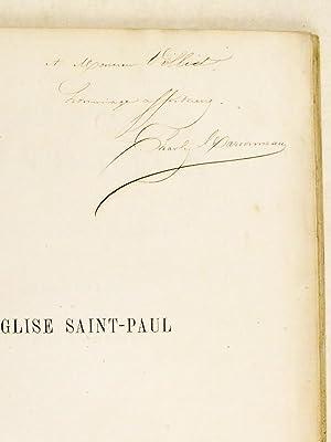 L'Eglise Saint-Paul, ancienne église de la Maison-Professe des Jésuites. [ Livre...