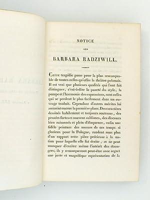 Théâtre Polonais : Félinski , Wenzyk , Niemcowit , Oginsky , Mowinsky , ...