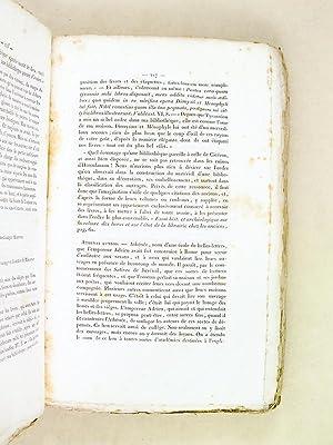 Oeuvres de C. Sollius Apollinaris Sidonius (3 Tomes - Complet) Traduites en français avec le...