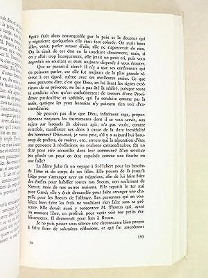 Vie de Julie Billiart par sa première Compagne Françoise Blin de Bourdon ou Les m&...