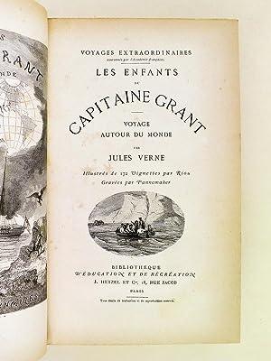 Les Enfants du Capitaine Grant. Voyage autour du Monde [ Avec : ] Le Docteur Ox. Maître ...