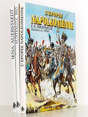 Lot de 3 livres) Austerlitz, le Soleil de l'Aigle ; Iéna Auerstaedt , le Triomphe de l&...