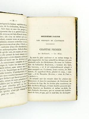 Deux livres reliés en un vol.) Les peuples de l'Afrique et de l'Amérique ( ...