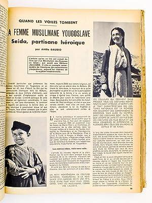Sciences et Voyages , la revue du reportage documentaire illustré , année 1957 ( ann&...