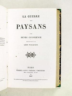 Scènes de la Chouannerie [Suivi de : ] La Guerre des Paysans. Scènes historiques du ...