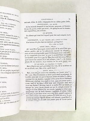 Théâtre Complet. Chatterton, La Maréchale d'Ancre, Quitte pour la peur, Le...