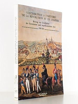 Contribution à l'histoire de la Révolution et de l'Empire - Beitrag zur ...