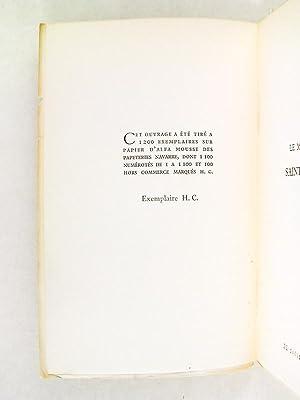 Le Mystère de Saint Louis. Drame en 4 actes et 15 tableaux [ Edition originale ]: BORDEAUX, ...