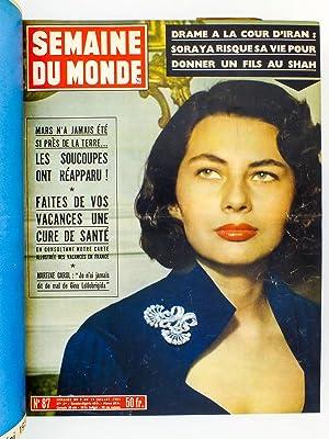 Semaine du Monde , 2e Semestre 1954 ( du n° 86 du 2 juillet 1954 au n° 112 du 31 dé...