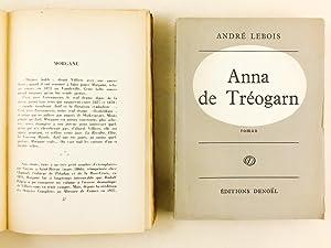 Lot de 2 Livres dédicacés et de 4 Lettres autographes signées ] Anna de Tr&...