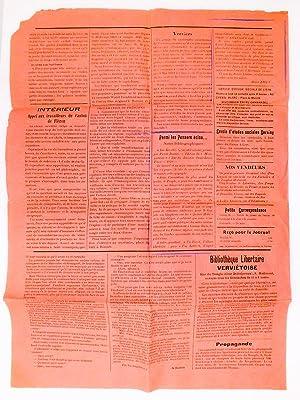 Germinal , Organe hebdomadaire d'émancipation populaire ( première année,...