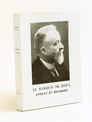 Le Marquis de Roux Avocat et Historien: GLANDY, Anne André
