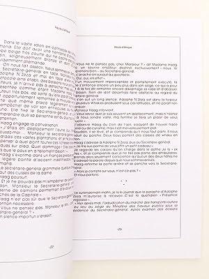 Récits d'Afrique ( exemplaire dédicacé par l'auteur ): RAUSZER, ...