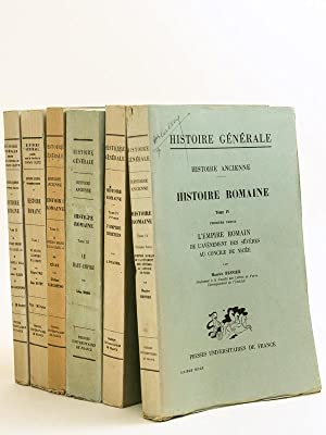 Histoire ancienne. Troisième Partie : Histoire Romaine [ 5 Tomes en 6 Volumes : Histoire ...