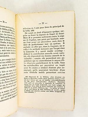 Dupré de Saint-Maur et le problème des corvées. Le conflit entre l'...