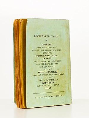 Visite du Mont-Saint-Michel - notes desccriptives et notes historiques ; suivie de Guide du ...