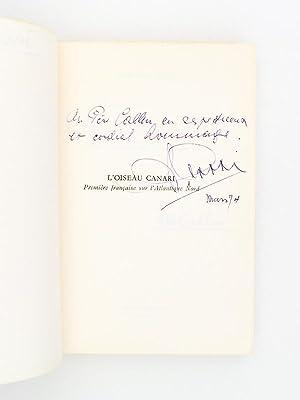 L'oiseau canari - première française sur l'Atlantique Nord [ exemplaire d&...