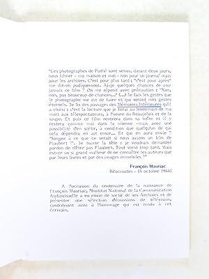 François Mauriac Bloc-Notes Période 1953-1970 [ On joint : ] François Mauriac ...