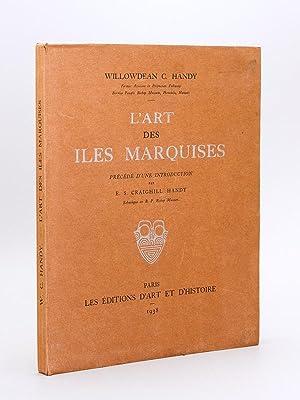 L'Art des Iles Marquises: HANDY, Willowdean C.