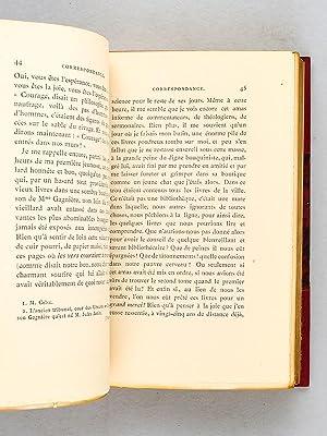 Correspondance, publiée avec le concours de M. Jules Janin.: JANIN, Jules