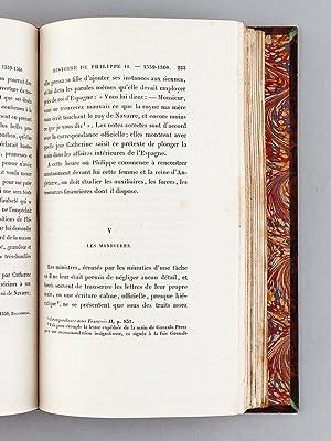 Histoire de Philippe II. Tome I : L'Espagne et l'Europe durant les premières ann&...