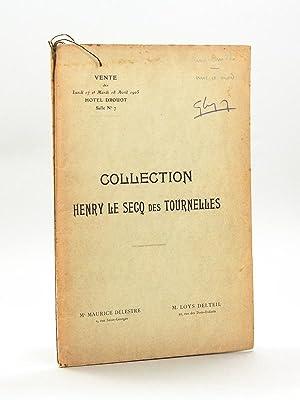 Collection Henry Le Secq des Tournelles. I: LOYS DELTEIL