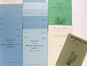 Bulletin of the British Bryological Society ( 15 vol., from Number 27 to Number 41 , January 1976...