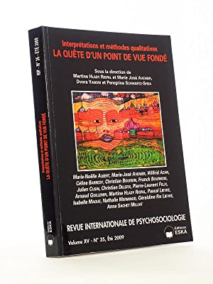 Interprétations et méthodes quantitatives, la quête d'un point de vue fondé. (Revue international...