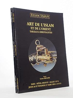 Art de l'Islam et de l'Orient, Tableaux: Etude TAJAN, Commissaires-Priseurs