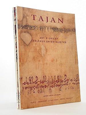 Art d'Orient, Tableaux orientalistes [ Lot de: Etude TAJAN, Commissaires-Priseurs