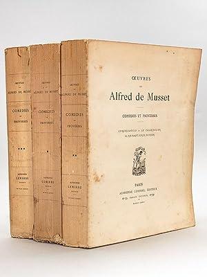 Comédies et Proverbes (3 Tomes - Complet): MUSSET, Alfred de
