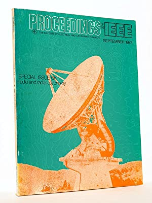 Proceedings of the IEEE, vol. 61 Nr 9 : Special issue on radio and radar astronomy (September 1973)